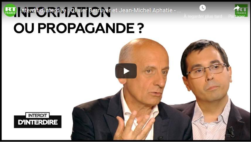 [Moment rare] Interdit d'interdire: Olivier Berruyer et Jean-Michel Aphatie – Information ou propagande?