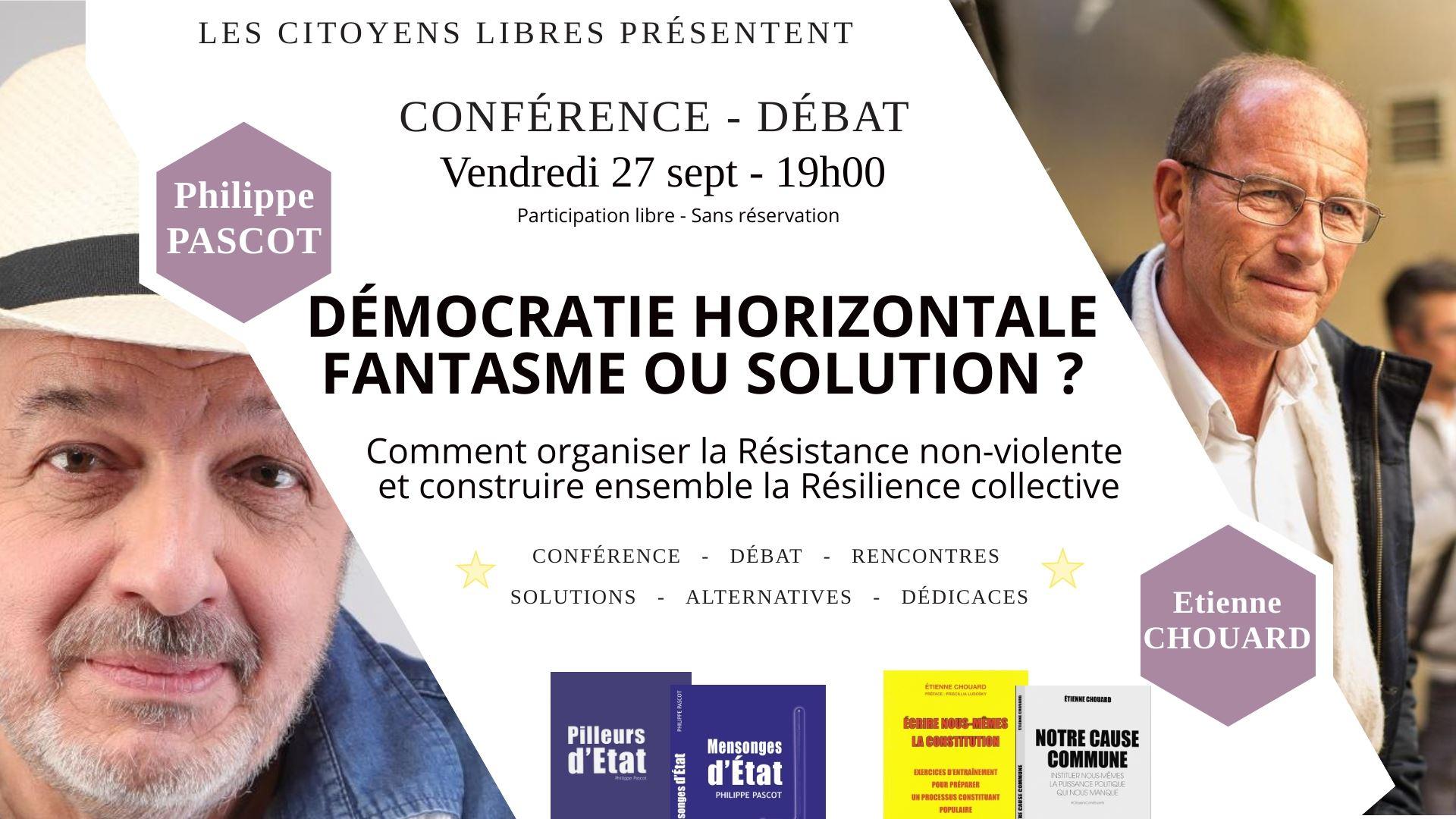 Rendez-vous à Anglet (entre Biarritz et Bayonne), vendredi 27 septembre 2019, avec Philippe Pascot