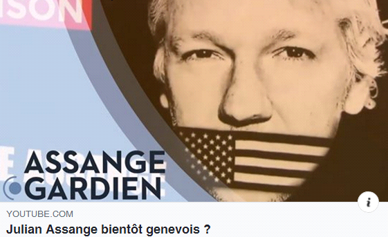 Julian Assange bientôt Genevois?