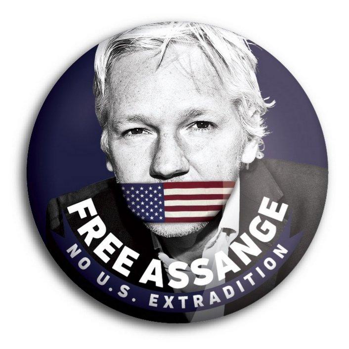 [Injustice chimiquement pure] Le journaliste Ami du peuple Julian Assange est torturé à mort par nos prétendus «représentants» dans le secret des geôles londoniennes alors qu'il n'est ACCUSÉ DE RIEN. Viktor Dedaj