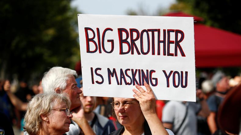 [La tyrannie qui vient, sous prétexte sanitaire] Big Brother is masking you