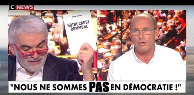 NOUS NE SOMMES PAS EN DÉMOCRATIE – Etienne Chouard intervention sur CNews (c'est plutôt rare…) le 28 mars 2019, pour défendre les Gilets Jaunes, le RIC et la vraie démocratie