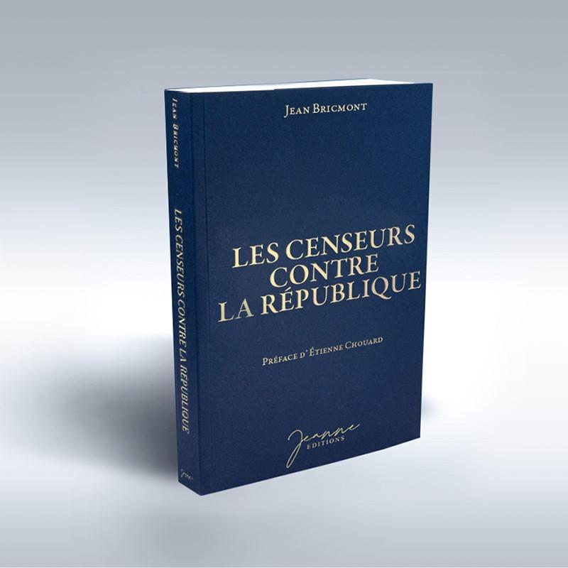 Jean Bricmont vient de rééditer un grand livre, «Les censeurs contre la République»