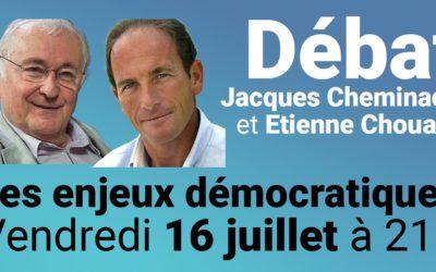 Rendez-vous le 16 juillet à 21 h, pour un échange avec Jacques Cheminade sur les enjeux démocratiques