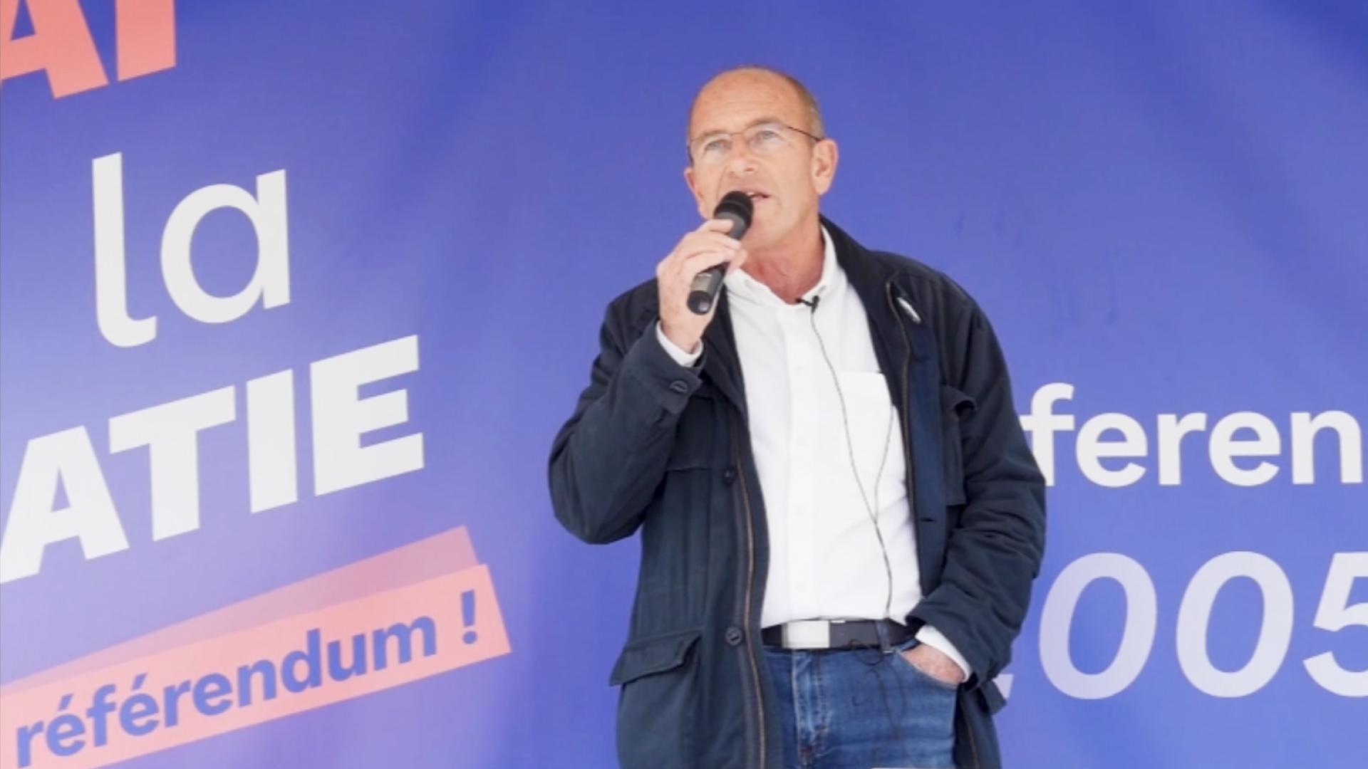 UE: vidéos de la fête de la Démocratie à Paris pour l'anniversaire du Référendum de 2005 le 29 mai 2021